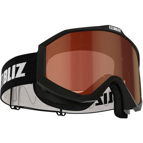 Bliz Liner Lunettes de protection Verre contraste Enfant, black-white/orange